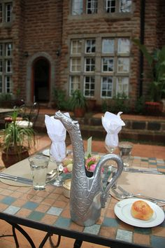 Giraffe Manor, Nairobi, I want this pitcher immediately!