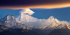 Lighting up the Himalayan (Nepal)  by Anton Jankovoy (www.jankovoy.com), via Flickr