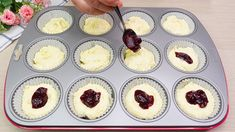 Muffin Recipes, Cake Recipes, Muffins, Breakfast Cupcakes, Cooking For One, Something Sweet, Biscotti, Cheesecake, Sweets