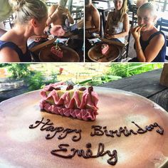 Happy birthday to my lovely spirited kind hearted awesome Aries sister @babykaleyogi ! . #happybirthday #emily #birthday #birthdaygirl #birthdays #bali #vegancake #vegan #gourmetfood #gourmet #healthyeating #healthyfood #friends #aries #ariesseason #goodtimes