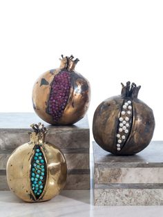Pomegranate Collection (Set of 3)