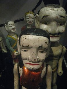 Water puppets from Vietman