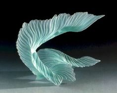 Vague N°10 by Matei Negreanu. 1995. Fused glass.