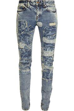 Saint Laurent low-rise jeans