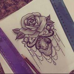 Resultado de imagem para lace tattoo