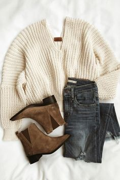 Spring Outfits With Casual Pieces - Pullover Cute Fall Outfits, Fall Winter Outfits, Autumn Winter Fashion, Spring Outfits, Casual Outfits, Winter Style, Winter Clothes, Simple Outfits, Sweater Outfits