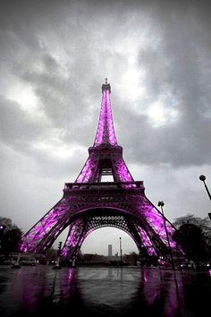 Eiffel violette <3