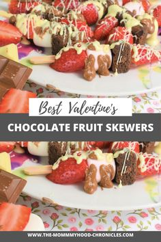 Best Valentines Chocolate Fruit Skewers! Chocolate Fruit Skewers/Valentine Day Skewers #BestValentinesChocolateFruitSkewers #ChocolateFruitSkewers #FruitSkewersRecipe #ChocolateFruitSkewersRecipe…  More