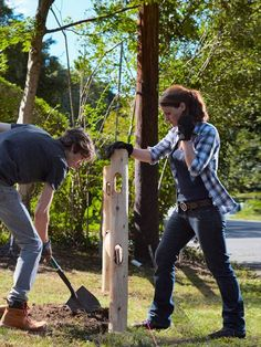 How to Build a Simple Split-Rail Fence