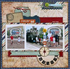 Grand Canyon Train - Echo Park - Getaway Collection