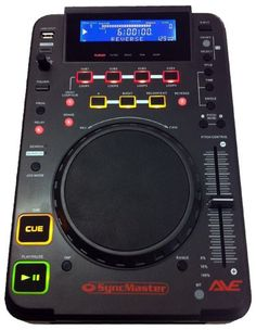 AVE Syncmaster Single DJ CD Player With USB and FX