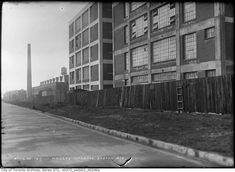 What Leslieville looked like over the past century Hub Home, Brick Yard, Brick Companies, Real Estate Values, Adaptive Reuse, Gas Station, Post Office, Aerial View, Really Cool Stuff