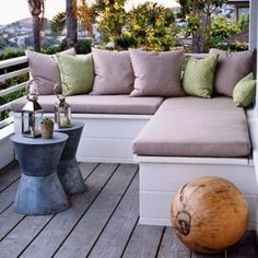 Modern beach homes - style ideas - Stylish beach house decor images - shimmer-deck.jpg