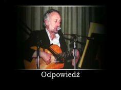 Odpowiedź - Przemysław Gintrowski Polish Music, Youtube, Youtubers, Youtube Movies