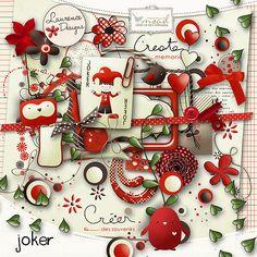 Joker [LDjoker] - €3.50 : My Scrap Art Digital, Passion for Digital Scrapbooking