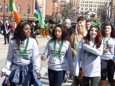 "Binghamton NY St. Patrick's Day Parade 2016 ""The Crowd"" (slideshow)"