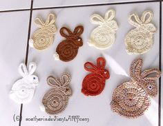 Get ready for easter....great fridge magnets, bookmarks, applique for that fav baby onesie or spring hat!