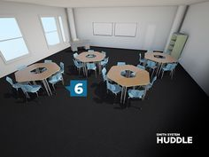 Kay-twelve.com Don't know what to do with your trapezoid desks? Make them into groups of six.