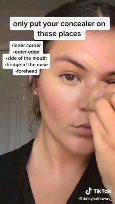 Makeup Looks Tutorial, Makeup Tutorial For Beginners, Beginner Makeup Tips, Makeup Products For Beginners, Makeup Essentials For Beginners, Basic Makeup For Beginners, Contouring For Beginners, Makeup Tutorials, Makeup Guide