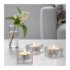 IKEA - GLASIG, Candle holder