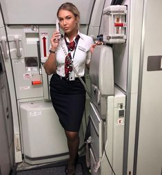 Beautiful Flight Attendants & Female Pilots — Katy - continuing the British Airways theme with. Delta Flight Attendant, Airline Attendant, British Airways Cabin Crew, Flights To London, Female Pilot, Summer Outfits, Sexy Women, Womens Fashion, How To Wear