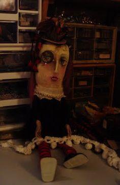 Adeles SpOOky Art: Dahlia Steampunk Doll WIP