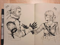 From a moment in the witcher 3 wild hunt maybe The Witcher Game, The Witcher Books, Witcher 3 Wild Hunt, The Witcher Geralt, Witcher Art, Character Concept, Character Art, Witcher Wallpaper, Good Cartoons