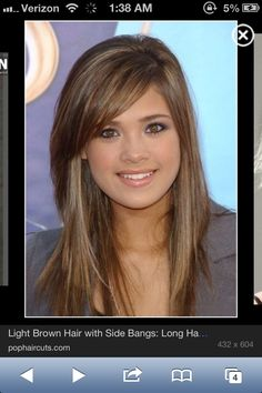 1000 Images About Side Swept Bangs On Pinterest Bangs