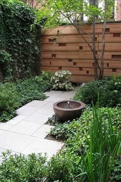 Front Yard Landscaping Ideas - Brilliant Front Garden as well as Landscape design Tasks You'll L Small Courtyard Gardens, Courtyard Design, Small Courtyards, Small Gardens, Outdoor Gardens, Courtyard Ideas, Modern Courtyard, Modern Gardens, Small Front Yard Landscaping
