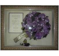 enjoy your bridal flowers for a lifetime! Timeless Moments can preserve your flowers and create a unique framed keepsake made from YOUR flowers.  Visit TimelessMoments.com for more info.