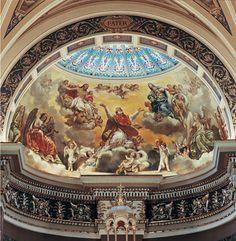 Mural Conservation, Basilica of St. Josaphat, Milwaukee, Wisconsin