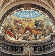 Mural Conservation, Basilica of St. Josaphat, Milwaukee, Wisconsin