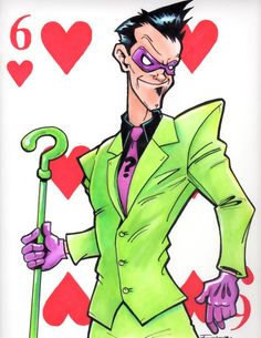 The Riddler, my favorite villain from Batman!