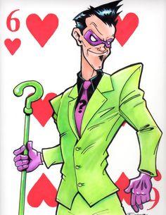 The Riddler, my favorite villain from Batman!
