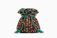Essential Oil Bag Earth Colors, Brown & Emerald Green by Fjokigrop