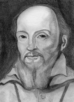 St. Francis de Sales Sketch by Kathy Ellinger, OFS