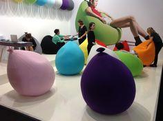 """baloon sitting by florence jaffrain at """"Now! Design à vivre"""" – Paris Maison et Objet"""