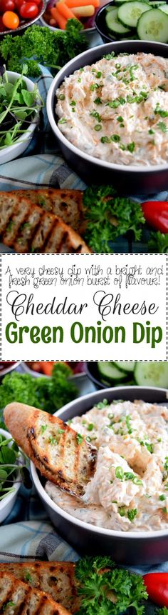 In more cases than not, simple is best! Cheddar Cheese Green Onion Dip is a perfect example of simple and best! Oh, and easy and delicious too!! If you're in the market for an easy dip with loads of flavour,…