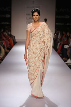 Lakme Fashion Week Winter/Festive 2014 : Soumitra Mondal