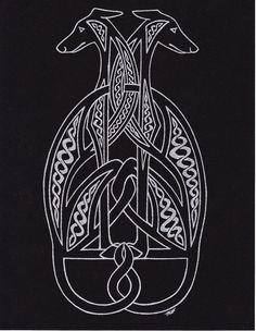 CelticHounds BlackSilver by Melibells.deviantart.com on @deviantART