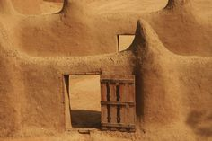 Mosque, build from mud, Djenne, Mali