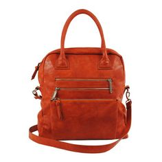 Enah Tote Persimmon, $39,  Fab. perfect for a weekend trip!!