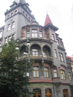 Un edifici al barri jueu de Praga