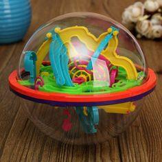 3D Raum Puzzle Ball Reisenden Intellekt Ball Balance Labyrinth Spiel Puzzle Bildung Kinder Spielzeug