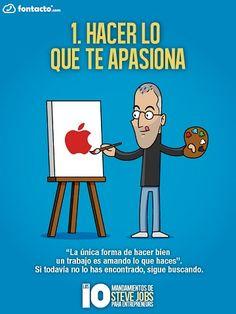 El Decálogo de Steve Jobs para el Éxito Emprendedor (I Parte) | 1000 Ideas de Negocios