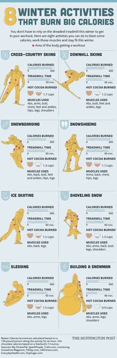 8 Ways To Burn Big Calories This Winter That Dont Involve The Treadmill