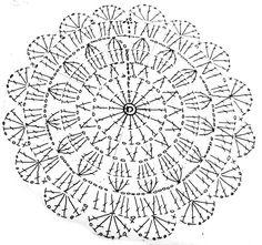 レース編み風ドイリーの作り方 手順|1|編み物|編み物・手芸・ソーイング|ハンドメイドカテゴリ|ハンドメイド、手作り作品の作り方ならアトリエ
