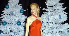 Figura de cera da atriz Nicole Kidman no museu Madame Tussauds de Londres. Madame Tussauds, Nicole Kidman, Stuart Wilson, Dresses, Fashion, Museum, Sculptures, Celebs, Celebs