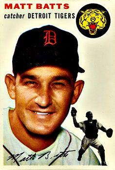 88 - Matt Batts - Detroit Tigers....................................Please save this pin... ........................................................... Visit!.. http://www.ebay.com/usr/prestige_online