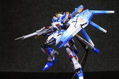 GUNDAM GUY: VP 1/100 RX-93V2 Hi-Nu Gundam Resin kit - Customized Build